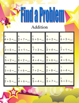 Find a problem addition