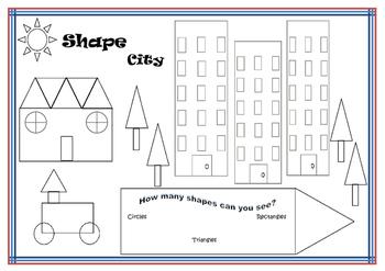Find a shape - Shape City
