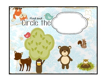 Find and CIRCLE Activity