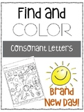 Find and Color Consonant Sounds