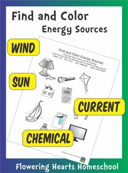 Find and Color Energy Sources