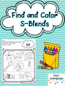 Find and Color S-Blends
