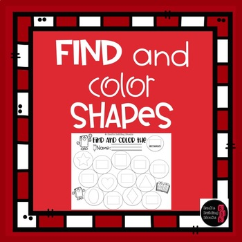 Find and Color Shapes