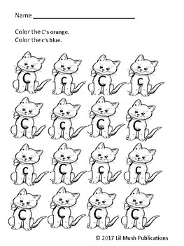 Find and Color the Letters