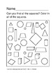 Find and Color the Shape