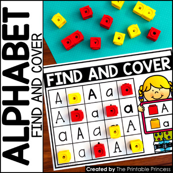 Find and Cover {Alphabet Activities to Teach Letter Recognition}