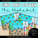 Find and Cover: Letters of the Alphabet (Summer Edition)