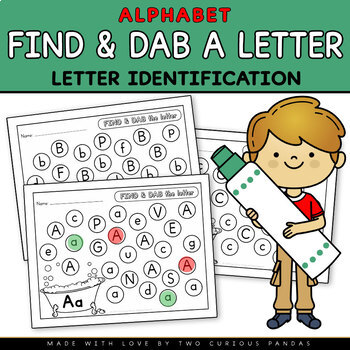 Find and Dab a Letter A to Z - Letter Identification