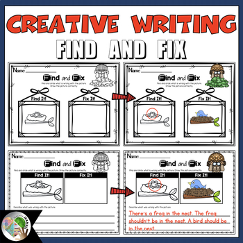 Creative Writing Activity Find and Fix