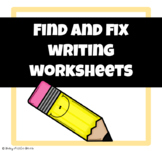 Find and Fix - Sentence Editing ((Primary))