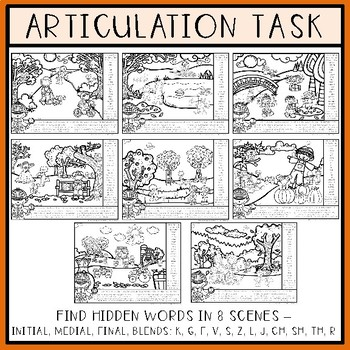 Speech and Language Find and Follow: Autumn