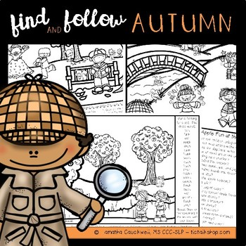 Find Articulation and Follow Directions Speech and Language: Autumn