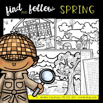 Find and Follow Speech and Language: Spring