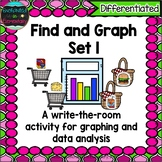 Find and Graph Set 1: A Differentiated Math Center