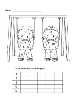 Find and Graph the Vowels