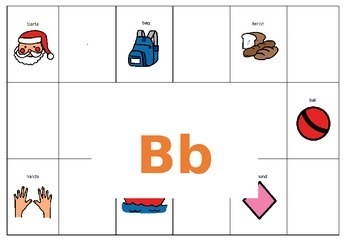 Find and Match the Letters to the Pictures
