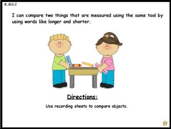 Find and Measure: A Math Center Activity (K.MD.2)