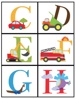 Find & Trace Letter Identification