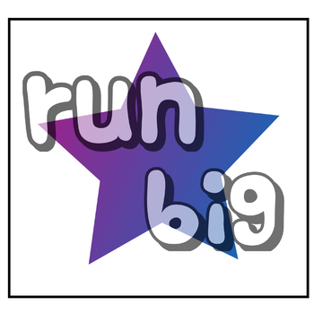 Find and color sight words - run, big