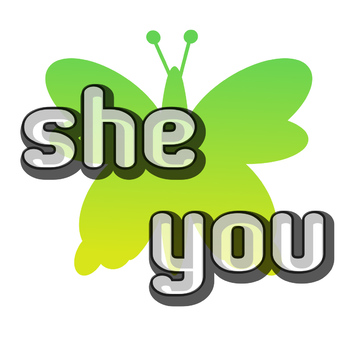 Find and color sight words- she, you