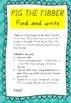 Handwriting Activity - Find and write