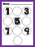 Find and write the number!
