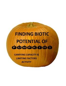 Find biotic (reproductive) potential of pumpkins...and hav