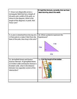 Find c Word Problems Task Cards