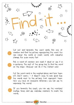 Find it - Camping