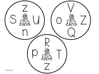 Find it Fast! (Letter Recognition Practice Alphabet Bundle)