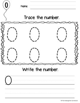 Number Trace and Make