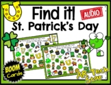 Find it! St. Patrick's Day Boom Cards w/ AUDIO - Distance