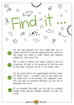 Find it - Vegetables