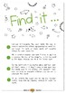 Find it - Verbs