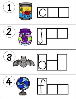 Find it! Write it! / Scoot CVC Short a FREEBIE