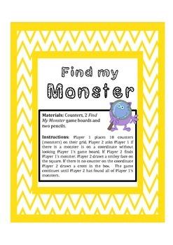 Find my Monster- Coordinates