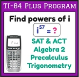 Find powers of i - imaginary numbers - complex numbers - T