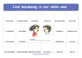 Find somebody in our class who... Back to school task