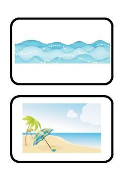 Summer Vocabulary Flashcards