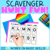 Find something that... Scavenger Hunt | DISTANCE LEARNING