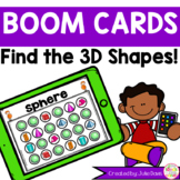 Find the 3D Solid Shapes Boom Cards Distance Learning