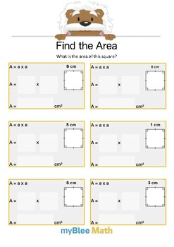 Find the Area 1.1 - Find the Area - Gr 4