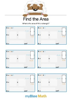 Find the Area 1.2 - Find the Area - Gr 4