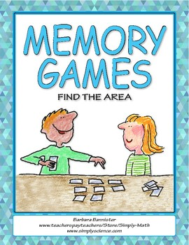 Find the Area Memory Games