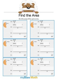 Find the Area 2.2 - Find the Area - Gr 6