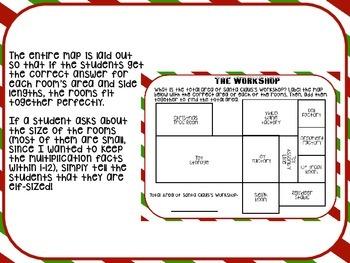 Find the Area: Santa's Workshop