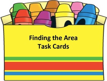 Find the Area Task Cards