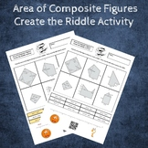 Find the Area of Composite Figures Create the Riddle Activity