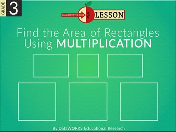 Find the Area of Rectangles Using Multiplication