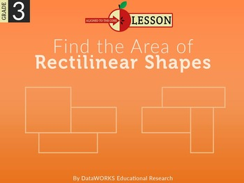 Find the Area of Rectilinear Shapes